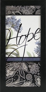 Hope, The God of Hope Framed Print