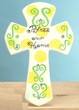 Bless Our Home Tabletop Cross