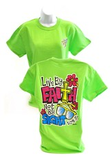 Girly Grace Sight Shirt, Lime,  XX-Large