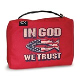In God We Trust Bible Cover, X-Large