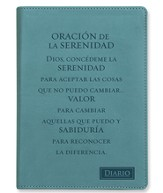 Oración De La Serenidad, Diario Piel Imitada  (Serenity Prayer, Lux-Leather Journal)