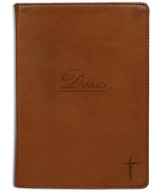 Cruz, Diario Imitación De Piel, Marrón  (Cross, Lux-Leather Journal, Brown) - Slightly Imperfect