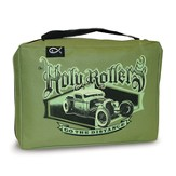 Holy Rollers Go the Distance Bible Cover, Green, X-Large