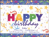 Happy Birthday Cards, Box of 16
