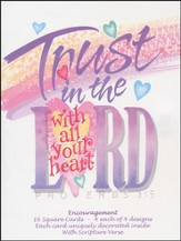 Trust the Lord Encouragement Cards, Box of 16