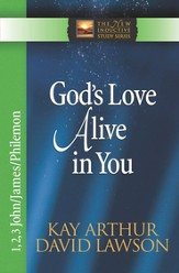 God's Love Alive in You: 1,2,3 John, James, Philemon - eBook