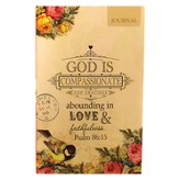 God Is Compassionate--Flexible Cover Journal