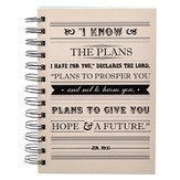 For I Know the Plans, Wirebound Journal, Small