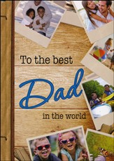 To the Best Dad In the World Devotional, Hardcover