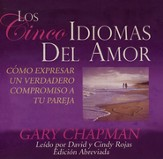 Los Cinco Idiomas Del Amor, Five Love Languages Abridged Audiobook on CD