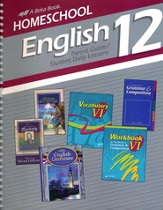 Homeschool English 12 Parent Guide/Student Daily Lessons