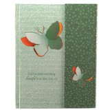 God Has Made Everything Beautiful In It's Time, Hardcover Flap Journal