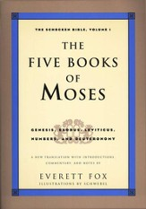 The Five Books of Moses: The Schocken Bible, Volume 1