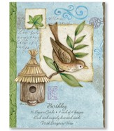 Blessings of Nature Birthday Cards, Box of 16