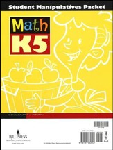 BJU Math K5 Student Manipulatives Packet (3rd Edition)