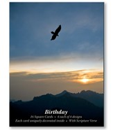 Eagle's Flight Birthday Cards, Box of 16