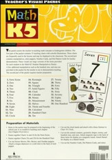 BJU Math K5 Teacher's Edition Visual Packet (3rd Edition)
