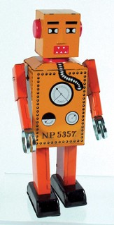 Tin Lilliput Robot