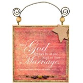 May God Always Be Plaque