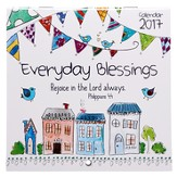 2017 Everyday Blessings Calendar, Small