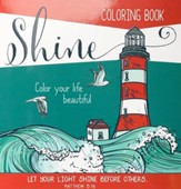 Shine, Coloring Book For Adults