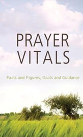 Prayer Vitals: Facts and Figures, Goals and Guidance - eBook