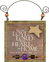 May the Love of the Lord Plaque