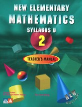 Singapore Math New Elementary Math Teacher's Manual 2