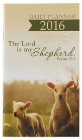 2016 The Lord is My Shepherd, Daily Pocket Planner