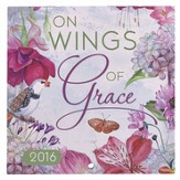 2016 Wings of Grace, Small Wall Calendar