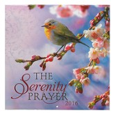 2016 Serenity Prayer, Wall Calendar