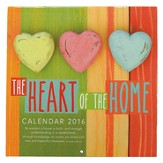 2016 Heart of Home, Calendar