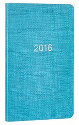 2016 Pocket Planner, Turquoise