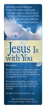 Jesus Is With You Bookmark