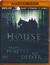 House - abridged audio book on MP3-CD