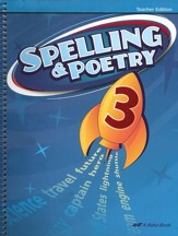 Spelling & Poetry, Fifth Teacher's Edition