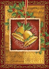 Christmas Bells Cards, Box of 12