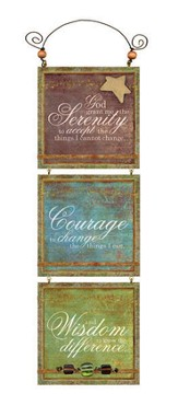 Serenity, Courage, Wisdom Plaque
