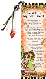 She Who Is My Best Friend Bookmark