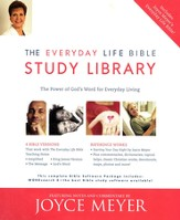 WORDsearch 9 Joyce Meyer Everyday Bible Library on CD-Rom
