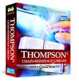 QuickVerse 10 - Thompson Chain Reference on DVD-ROM