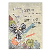 Guardian Angel Key Ring, Peace