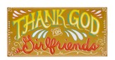 Thank God for Girlfriends, Wood Plaque
