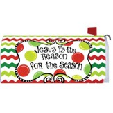 Christmas Season Mailbox Cover