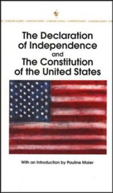 The Declaration of Independence and the Constitution of the United States - Slightly Imperfect