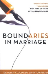 Boundaries in Marriage, Hardcover