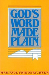 God's Word Made Plain - eBook