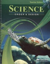 Science: Order & Design Teacher Edition