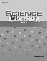 Science: Matter and Energy Tests
