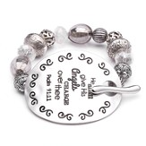 Psalm 91, Words To Live By Bracelet
